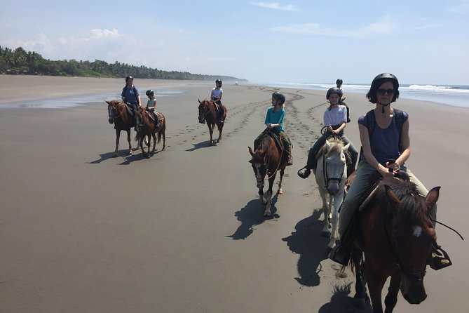 Horseback Riding on the Beach (CR Beach Barn).