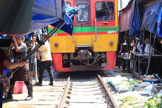 Bangkok Excursion To Railway And Floating Market 2019