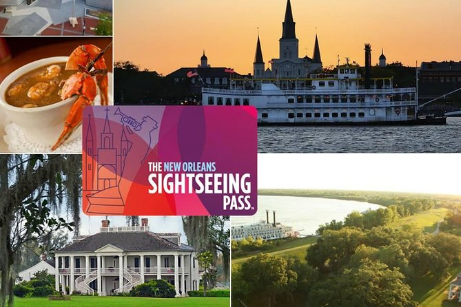 The New Orleans Sightseeing Flex Pass: Save Big on 20+ Attractions and Tours