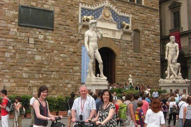 Enjoy your tour in a Segway around Florence!