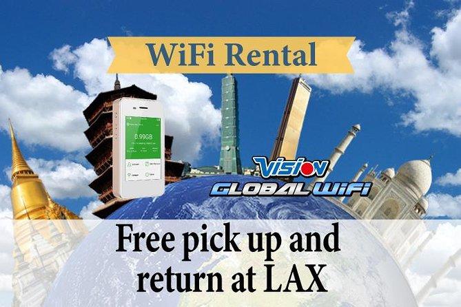 4G LTE Pocket WiFi Rental, Internet Connection in Shanghai
