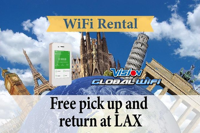 4G LTE Pocket WiFi Rental, Internet Connection in Europe