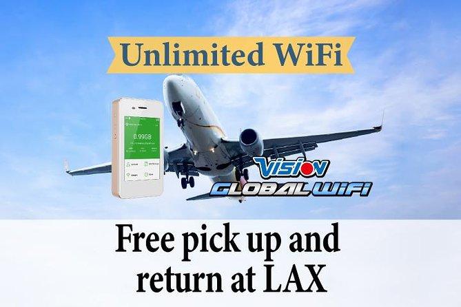 Portable WiFi Hotspot Rental at Los Angeles Airport   Los