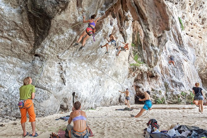 Real Rock Climbing Certified Courses at Railay Beach Krabi