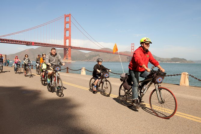 Alcatraz and Golden Gate Bridge to Sausalito Guided Bike Tour
