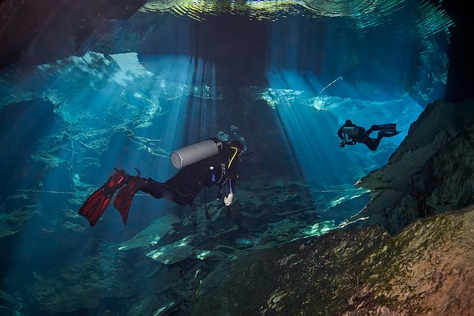 Dive package Cenotes from Riviera Maya
