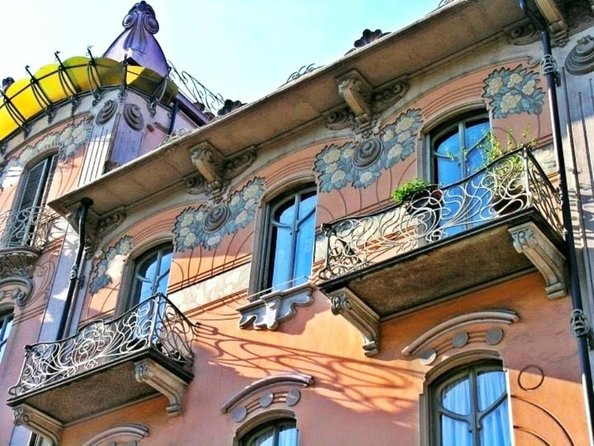 Turin's Art Nouveau buildings tour photo 2