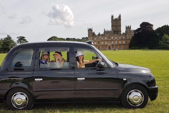 Private Downton Abbey with Castle Taxi Tour