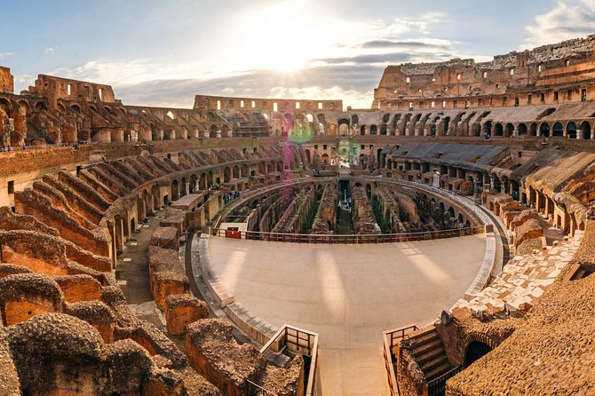 Exclusive Colosseum Private Tour with Priority Entrance