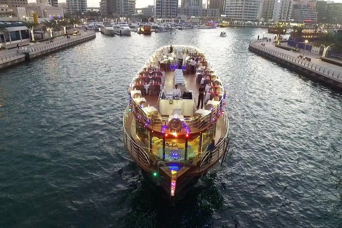 Dubai Dhow Marina Dinner Cruise