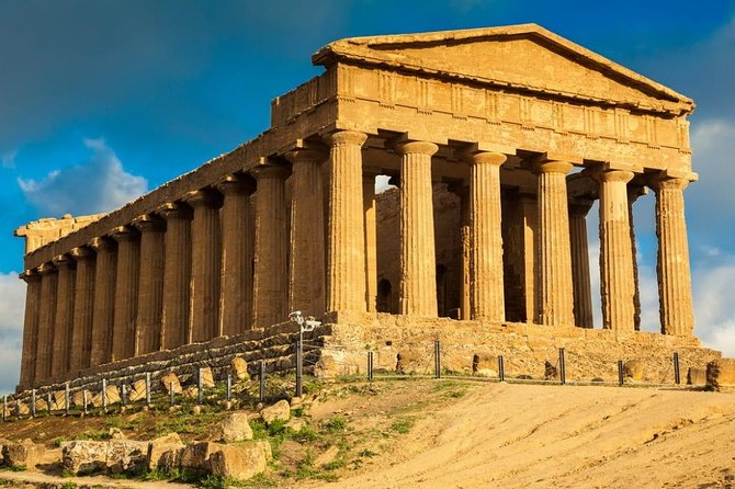 Villa Romana Del Casale in Piazza Armerina and Valley Of Temples in Agrigento