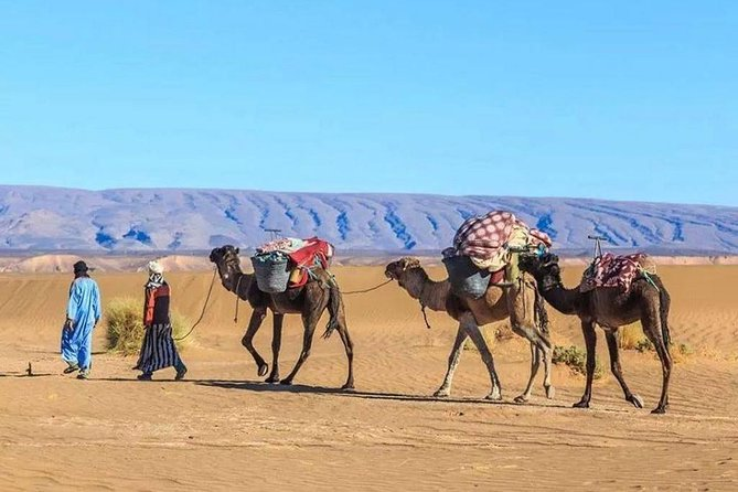 Private day trip from Marrakech to Agafay desert