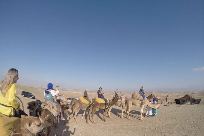 Day trip from Marrakech to Agafay desert: camel ride and quad biking tour