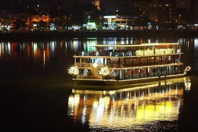 Vietnamese Dinner on Han River Dragon Cruise