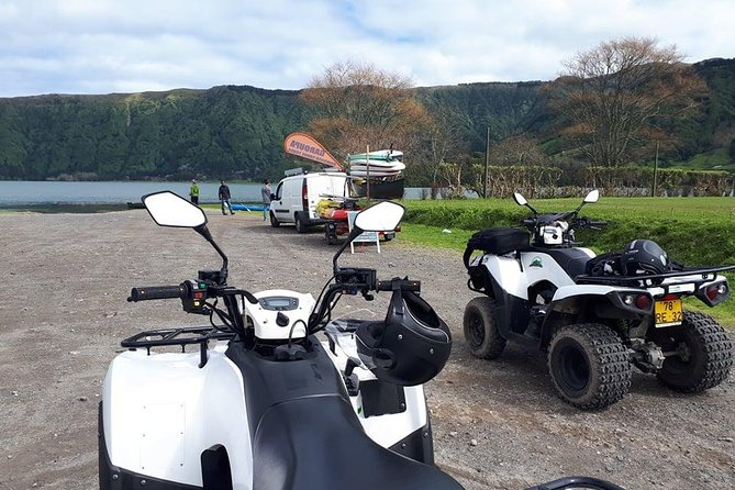 Quad Bike and Canoeing - Sete Cidades (Full Day) with lunch.