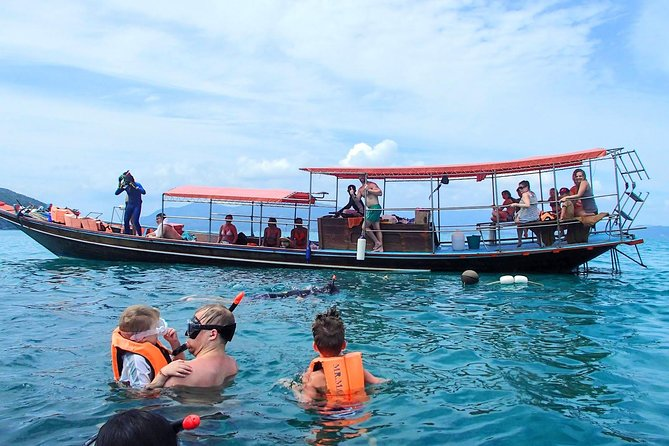 Open water snorkeling fun