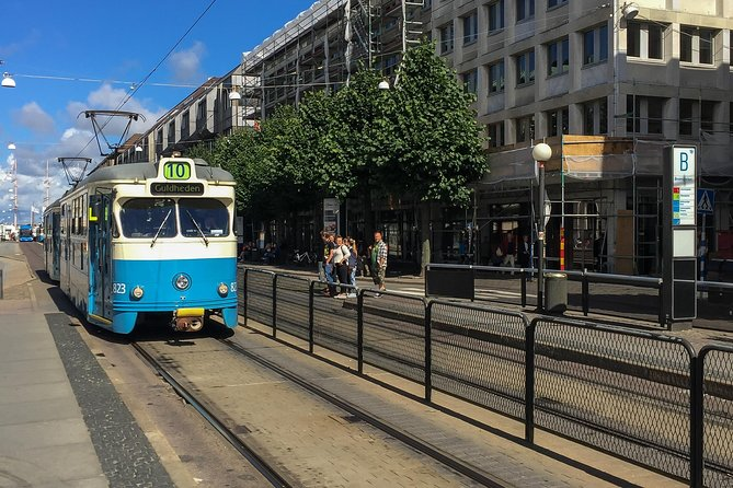 Gothenburg city tour by traditional tram