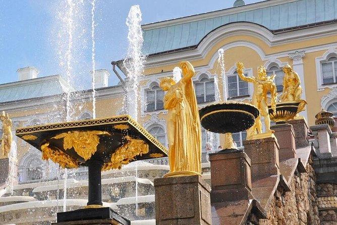 Peterhof and Kronstadt tour