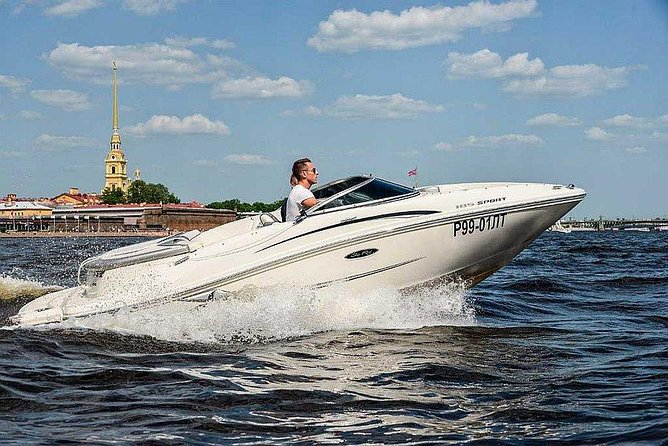 Private boat trip and city tour of Saint-Petersburg