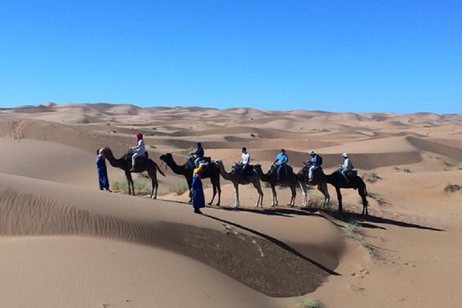 Private 3 Days With Group Marrakech to Marrakech Via Merzouga Desert.Camel ride,