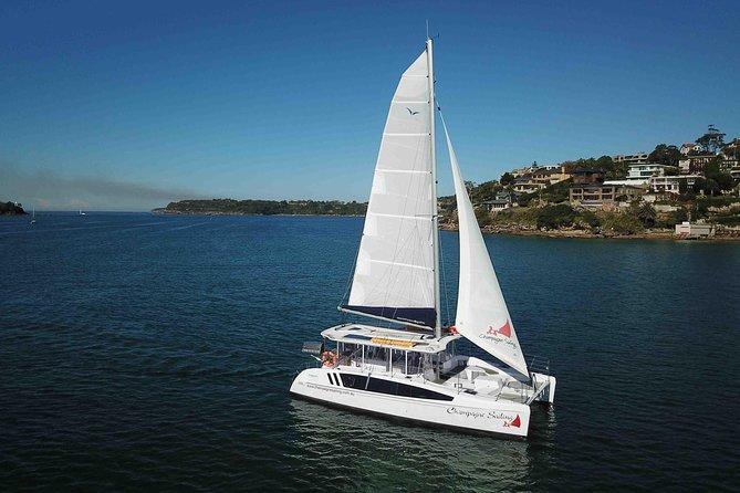 Luxury catamaran Champagne Sailing