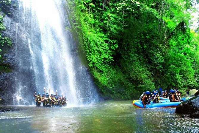 Bali White Water Rafting and Kintamani Volcano Tour