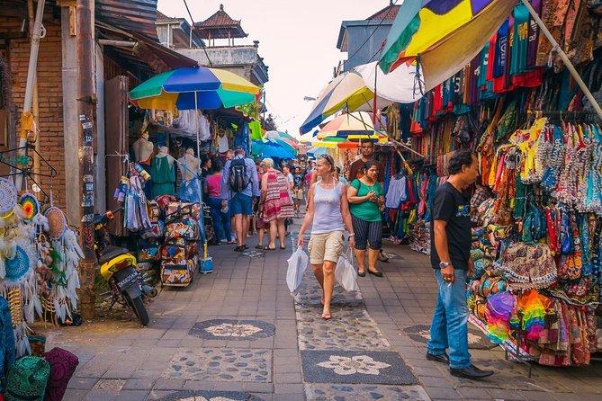 Ubud City Tour II: Monkey Forest, Palace, Art Market, and Rice Terrace