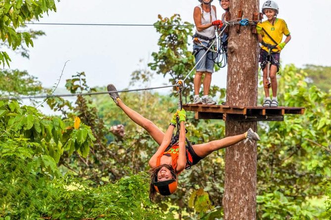 Zipline Adventures in Krabi Fun Park