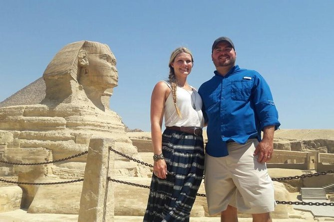 8 Hrs Day Tour of Giza Pyramids-Egyptian Museum with Market and Camel ride photo 14