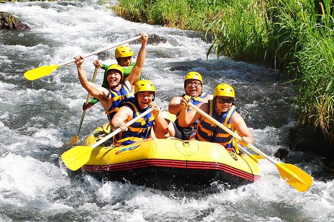 Bali White Water Rafting and Zip Line Adventure
