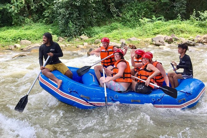 White Water Rafting Adventure on Songprak River from Krabi