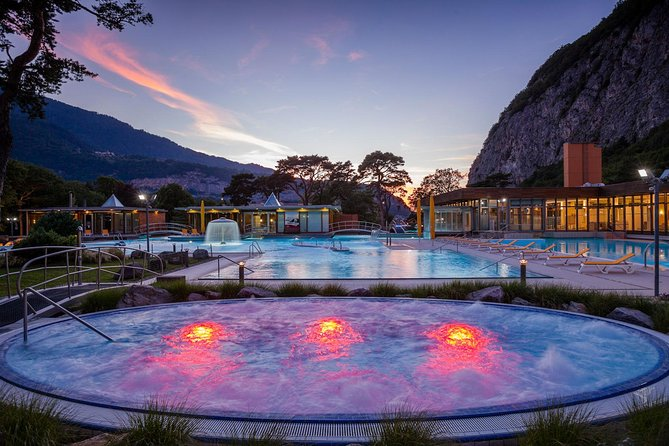 Private trip from Geneva to the Spa Resort - Les Bains de Lavey