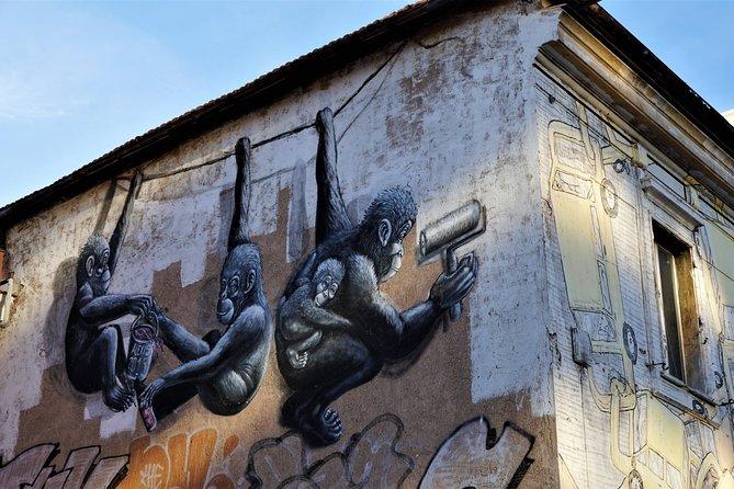 Rome Street Art Private Tour & Food Tasting at Testaccio Market