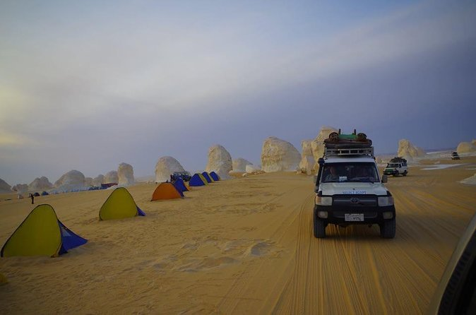 Private over day trip to enjoy White Desert and Bahariya Oasis with sand boarding adventure with all equipment photo 1