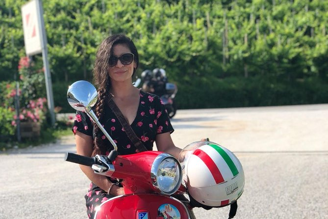 Vespa tour in the Prosecco Land