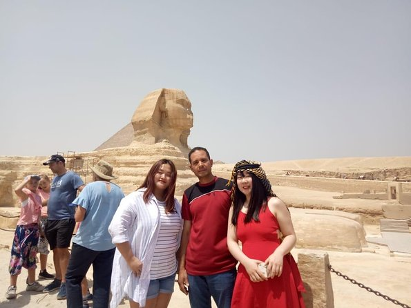 Giza Pyramids & Sphinx and Egyptian museum Full day Guided Tour photo 9