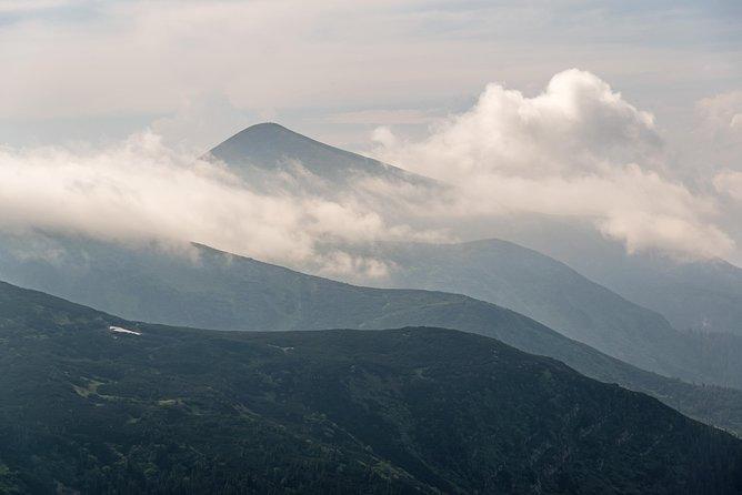Ascending Hoverla and Khomyak