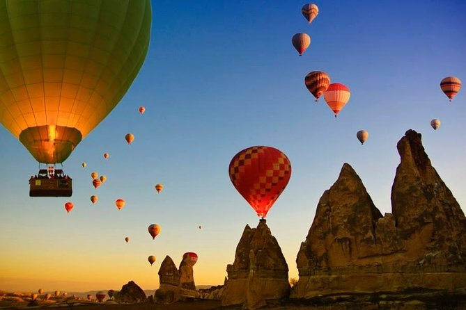 Turkey's Highlights - Pamukkale, Ephesus, Cappadocia Trip & Balloon Ride Option