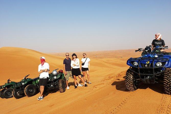 Sunrise - 3in1 - 4x4 Land Cruiser Safari, Quad Bike, Sand Boarding
