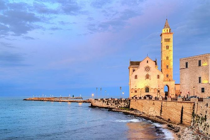 TRANI and Castel Del Monte UNESCO from your accomodation