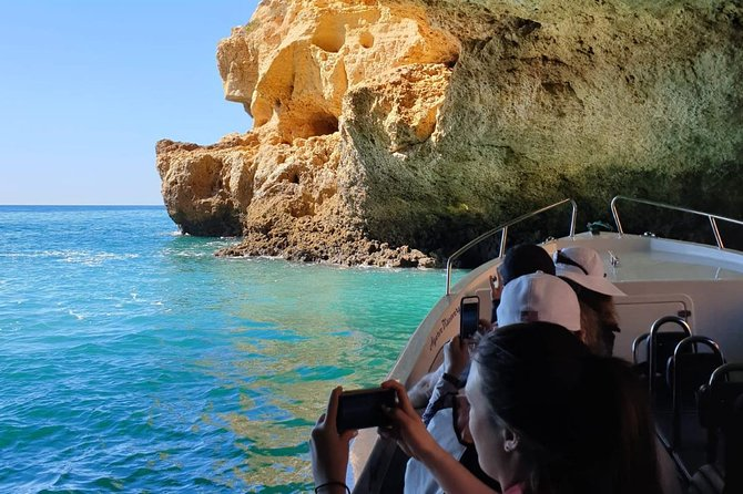 Algarve Coastline Tour from Portimao jeep and boat tour