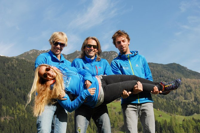 Paragliding and tandem flights in the Stubai Valley