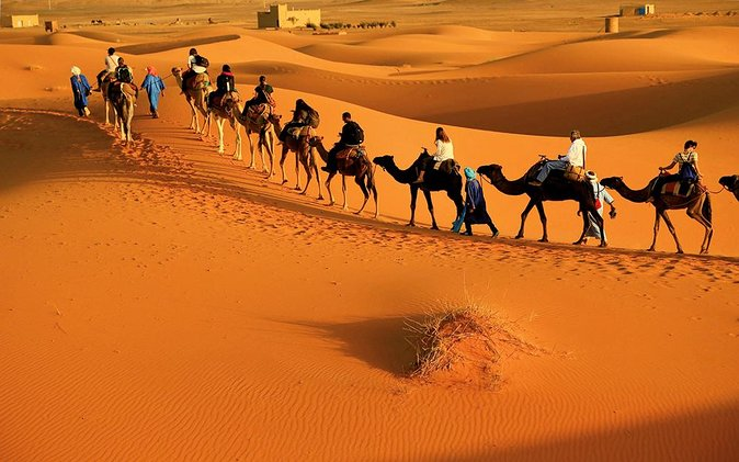 2 Day Zagora Tour from Marrakech Including the Atlas Mountains, Camel Trek and Desert Camp