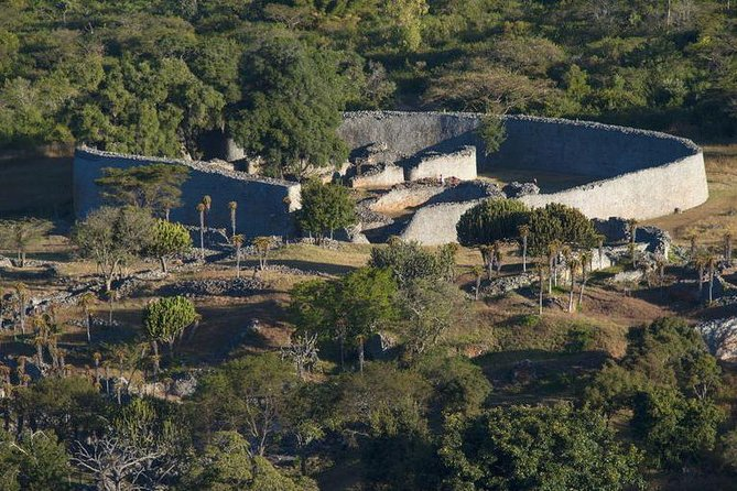 Hilltop view of Great Zimbabwe