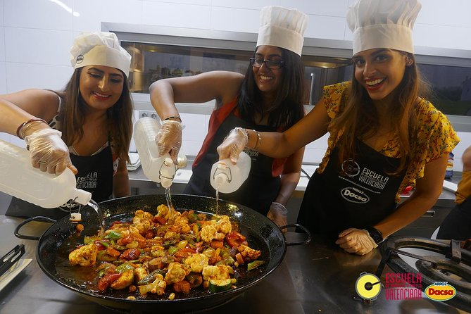 3-hour Vegetarian Paella Cooking Class in Valencia photo 1