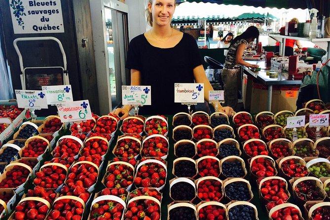 Visita guiada por expertos en el mercado privado de Montreal y comida