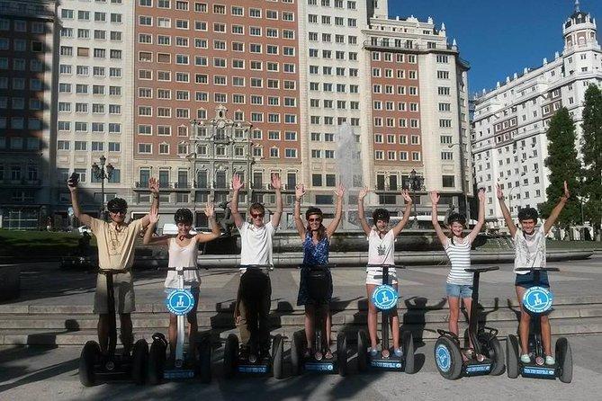 Sightseeing Segway Tour 1h30 in Madrid