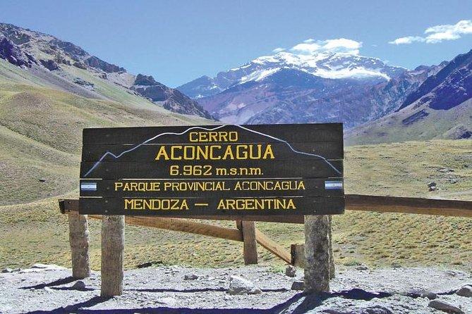 Portillo, bridge of the Inca and mirador del aconcagua