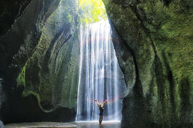 Triple bali waterfall, Mount Batur, Rice terraces day tour