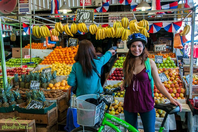Santiago Local Life and Markets Small-Group Bike Tour